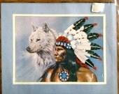 "White Wolf - Simplicity ColorArt Stitchery Crewel Kit No. 5063 – 12"" x 9"""