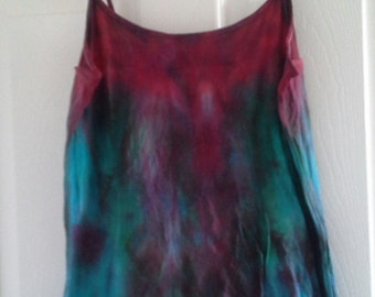 Simple Hand Dyed Camisole --multiple sizes made