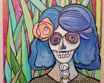 Sugar Sugar Carmencita-  original acrylic painting 11x14