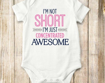 Awesome, Onesie, Shirt,  bodysuit, children clothing, baby, tops, girls