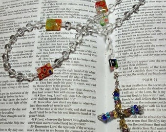 R045 Christian Prayer Beads Traditional Catholic Rosary