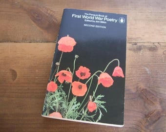 The Penguin Book of First World War Poetry Paperback