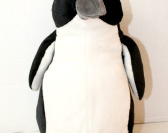 animal planet plush penguin discovery stuffed animal toy