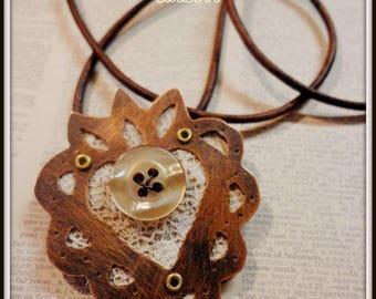 This Tender Heart Handmade Soldered Pendant
