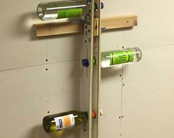 Wall Mounted Ski Wine Rack