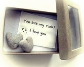 Valentine's Day Card, Holiday card, Romantic Love card, Beach theme card, Israel, Unusual Greeting Card, Natural Heart Shaped Beach Rock
