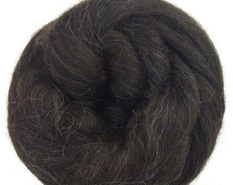 Icelandic Wool Top - Black - 16 oz