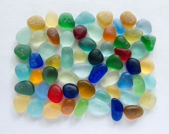English Sea glass - Gems  - Lot  DC1094