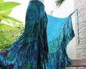 Ariel on Earth Ruffle Wrap Skirt - B0517-02