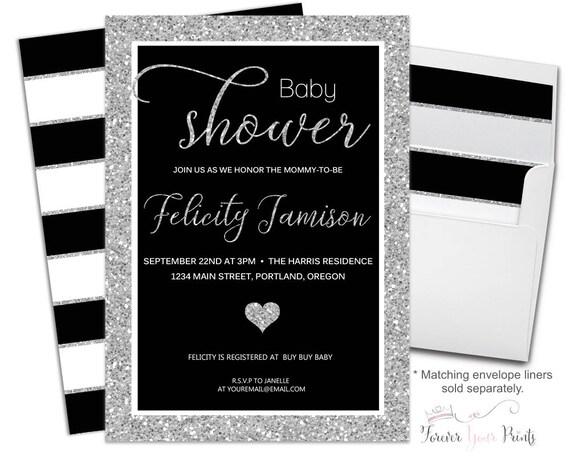 Modern Baby Shower Invitation - Modern Baby Shower Invite - Boys Baby Shower Invite - Baby Invitation - Baby Invite - Gender Neutral