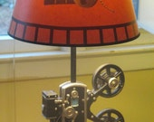 Vintage Replica Movie Camera Desk Lamp Perfect for your future Film maker!