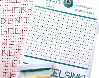 Sew it yourself tag - (please choose one!)