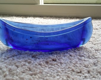 Cobalt blue canoe. Pristine condition.