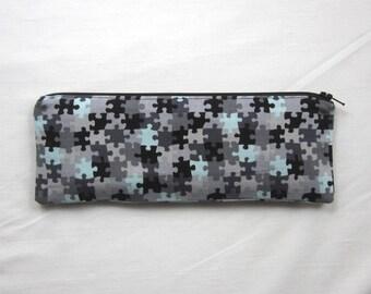 Skinny Puzzles Zipper Pouch / Pencil Case