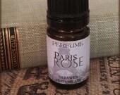 PARIS ROSE Perfume Oil / Vegan Perfume / Rose, Amber, Vanilla