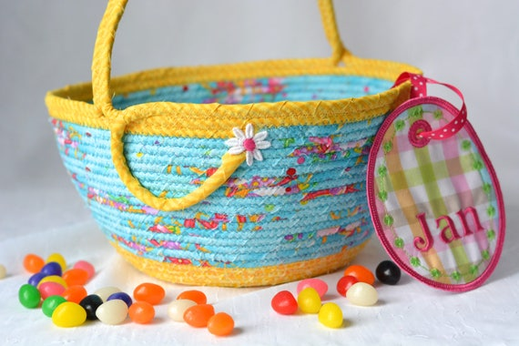 Flower Girl Basket, Handmade Girl Easter Bucket, Lego Storage Basket, Stuffed Animal Bucket, Doll Bed Basket, Toy Storage Organizer