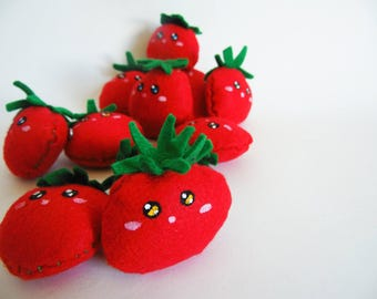 Tomato Plush Brooch