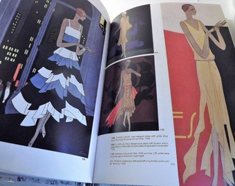 Fashion Book, Evening Gown Book, Evening Dresses of the 1900 - 1940, Dress Reference Book, Marco Tosa by Zanfi Editori, First Edition 1988
