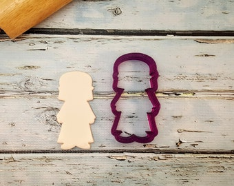 Joseph with Nativity Scene Cookie Cutter and Fondant Cutter and Clay Cutter