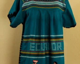 Ecuador Ethnic Dress one size
