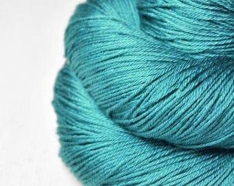 Lost in the Caribbean sea OOAK  - Merino/Silk Fingering Yarn Superwash
