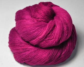 Electric light pink -  Merino/Cashmere Fine Lace Yarn