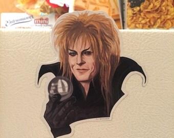 Jareth Labyrinth fridge magnet