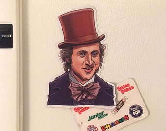 WILLY WONKA Fridge Magnet!