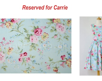 Custom made dresses - Reserved for Carrie's bridesmaids