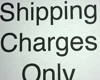 CUSTOM Charges for upgraded SHIPPING for Samantha ONLY
