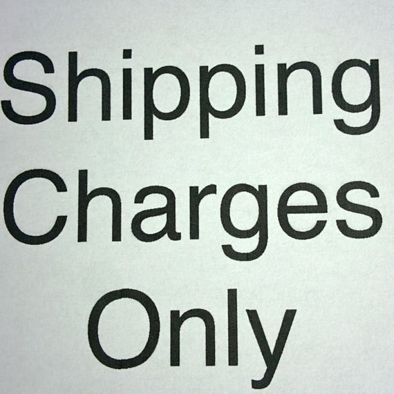 CUSTOM Charges for upgraded SHIPPING for Daphne DeGennaro ONLY