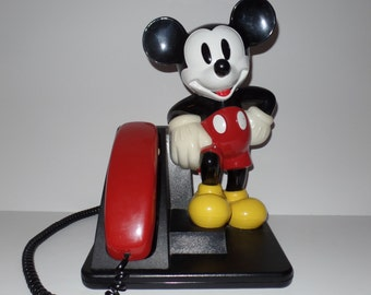 Vintage Mickey Mouse telephone phone