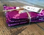 Purple Coaster Set (4)