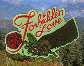 Forbidden Love Chenille BACK PATCH