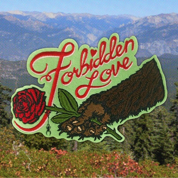 Bigfoot Forbidden Love patch image