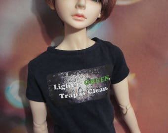 Light is Green, Trap is Clean 60cm BJD SD/SD13 t-shirt