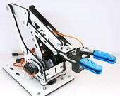 Arduino MeArm Compatable ArmUno 2.0 Robotic Arm Kit Includes Robotio Nano Shield Controller and Software App