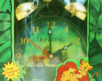 Disney Lion King Alarm Clock- Vintage Style-New in Package