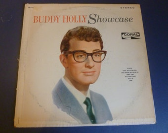 Buddy Holly Showcase Vinyl Record CRL 757450 Coral Records 1957 Recordings