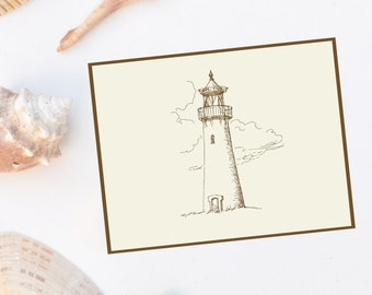 Lighthouse Note Cards