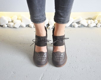 BROWNIE - Brown - Maestory by Keyman Design - FREE SHIPPING Handmade Shoes 2016-2017 Winter Collection