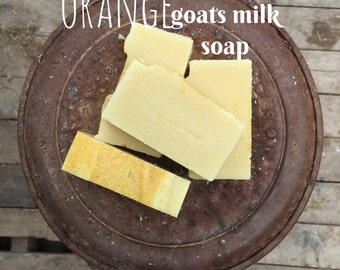 Orange Essential Oil- Grass fed Goats milk soap