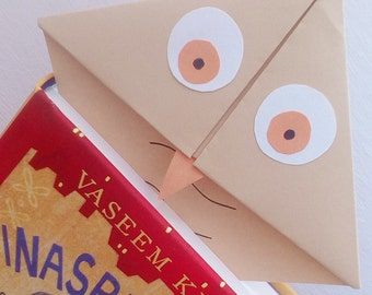 Cute Owl Corner Bookmark