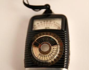 Vintage DuJur Amsco Light Meter, Vintage Exposure Meter, Photography Light Meter, Vintage Amsco, Tested and WORKS