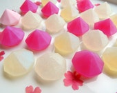 GEM SOAP, You're Such A Gem Soap, Set of Ten, Novelty Diamond Soaps, Kids Soap, Party Favor, Custom Colored, Custom Scented, Vegetable Based