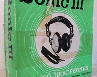 Vintage Space Age Robot boobies Headphones 70s Swank work great