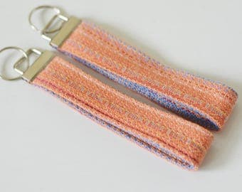 Mad Hatter Nothing's Impossible Key Fob, Orange, TOP FOB