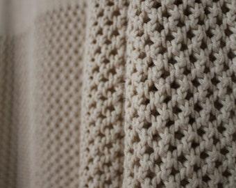 Vintage 70s/80s Raised Neckline Knit Sweater M/L