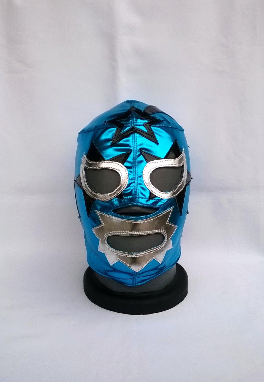 Superastro Wrestling Mask Luchador Mardi Gras Mask Day Of The