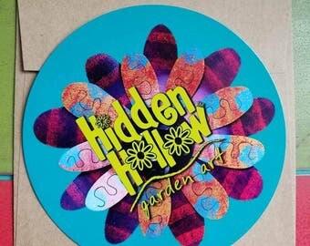 Hidden Hollow garden ART gift card